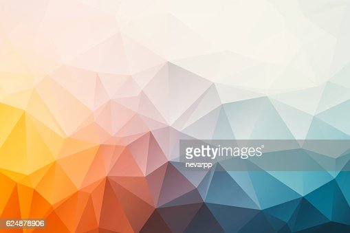 triangular abstract background : Stock Photo