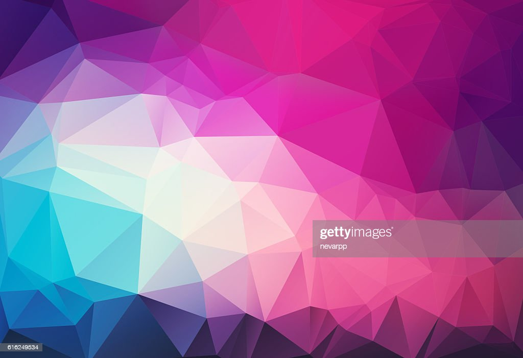 triangular abstract magenta background : Foto de stock