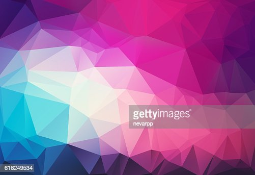 triangular abstract magenta background : Stock Photo