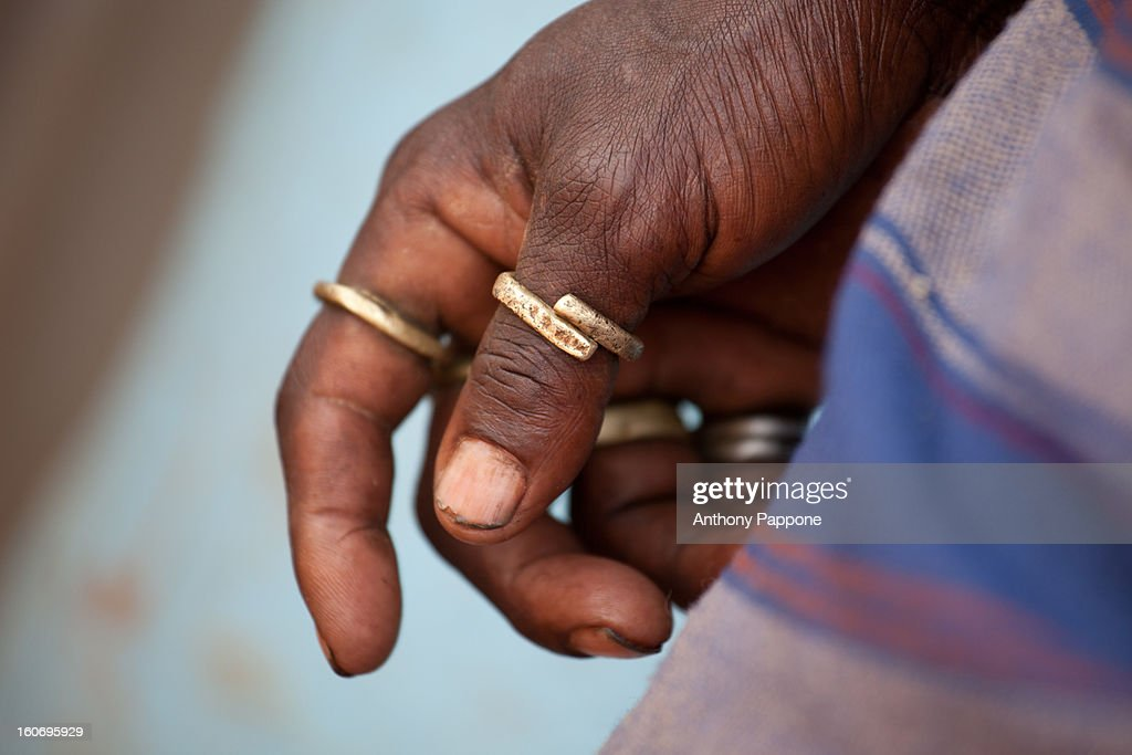 tribal rings : Stock Photo