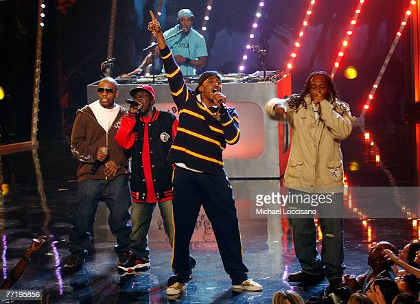 Tribe Called Quest perform during the 2007 Vh1 Hip Hop Honors at Hammerstein Ballroom on October 4 2007 in New York City
