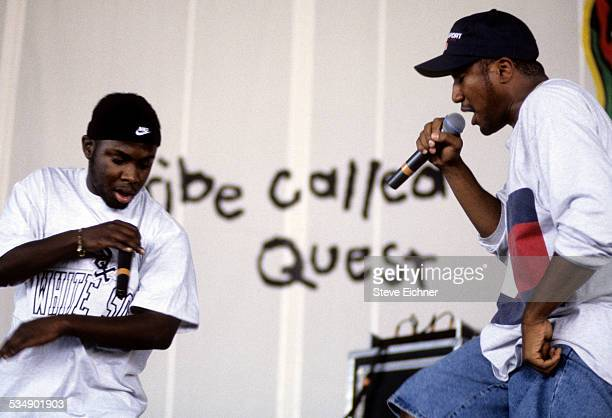 A Tribe Called Quest's QTip at performs at Lollapalooza Chicago Illinois July 15 1994