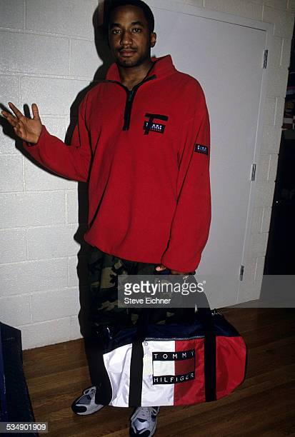 A Tribe Called Quest's QTip At Tommy Hilfiger office New York May 1994