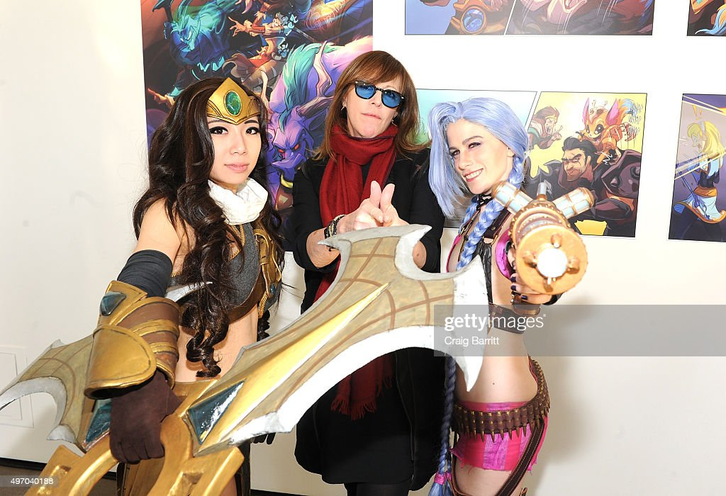 Tribeca Film Festival Cofounder Jane Rosenthal attends the Tribeca Games Presents The Craft And Creative Of League Of Legends on November 13 2015 in...