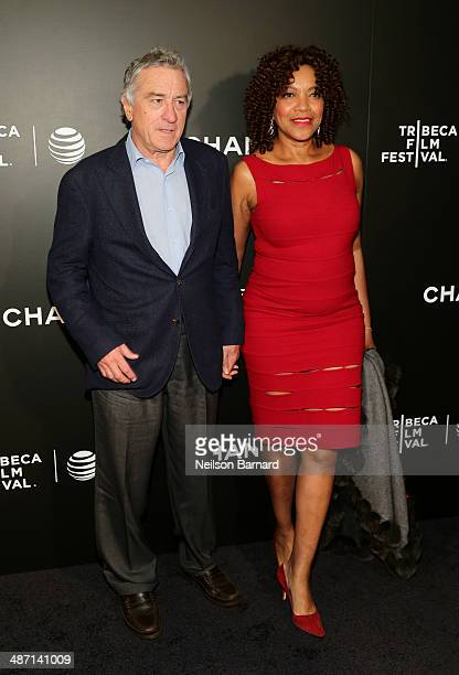 Tribeca Film Festival Cofounder Robert De Niro and Grace Hightower attend the 'Begin Again' Closing Night Premiere during the 2014 Tribeca Film...