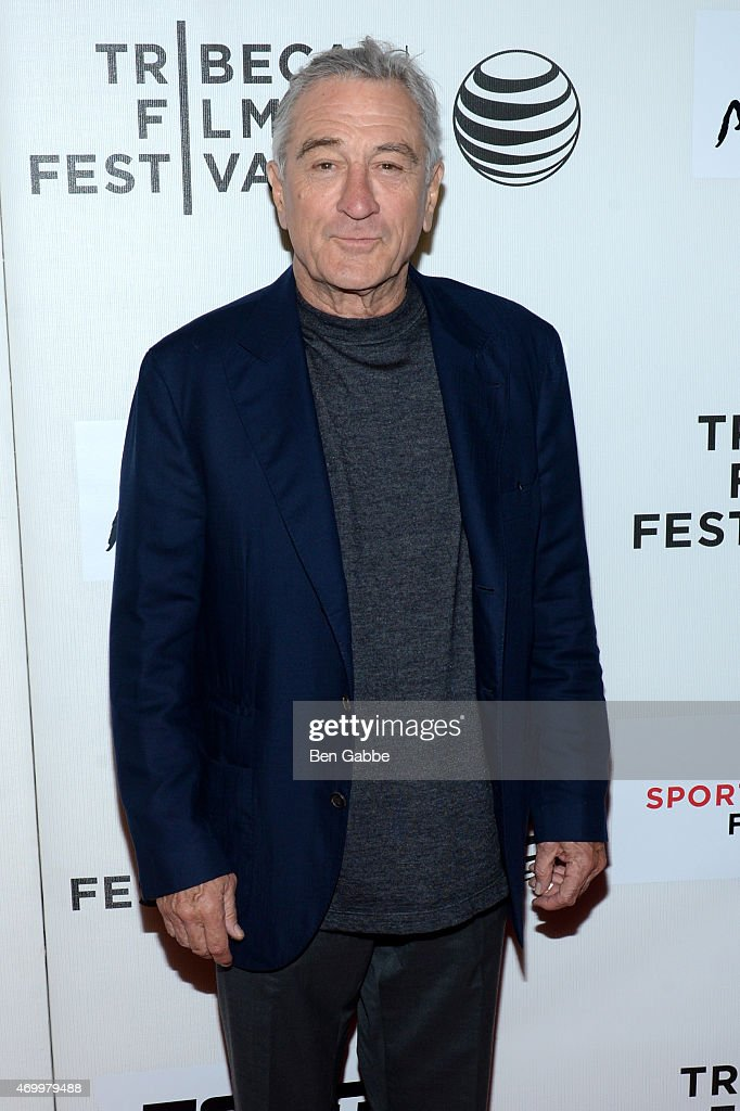Tribeca Film Festival Cofounder Robert De Niro attends the Tribeca/ESPN Sports Film Festival Gala for the premiere of 'Play It Forward' during the...