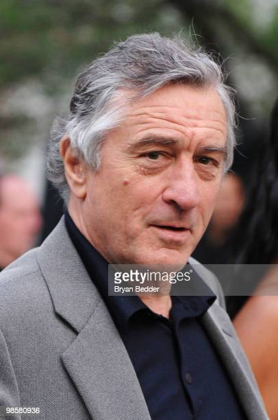 Tribeca Film Festival cofounder Robert De Niro attends the Vanity Fair party before the 2010 Tribeca Film Festival at the New York State Supreme...