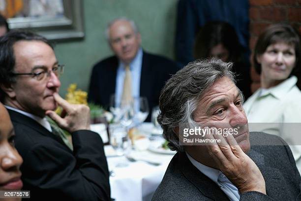 Tribeca Film Festival Executive Director Peter Scarlet and actor Robert De Niro attend the Shanghai luncheon at the Tribeca Film Festival April 21...