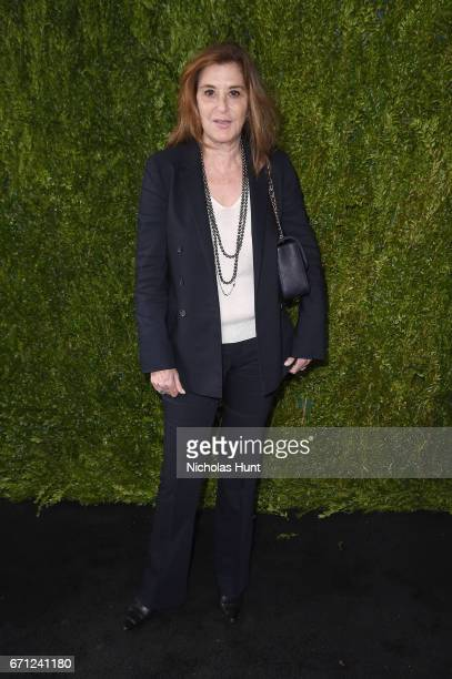 Tribeca's Executive Vice President Paula Weinstein attends CHANEL Tribeca Film Festival Women's Filmmaker Luncheon at The Odeon on April 21 2017 in...