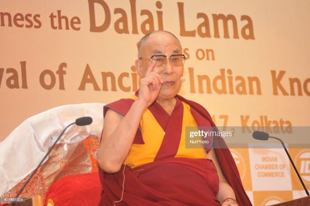 Tibetan Spiritual Leader Dalai Lama In Kolkata