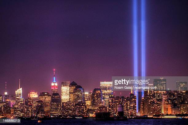 WTC Tribute in light