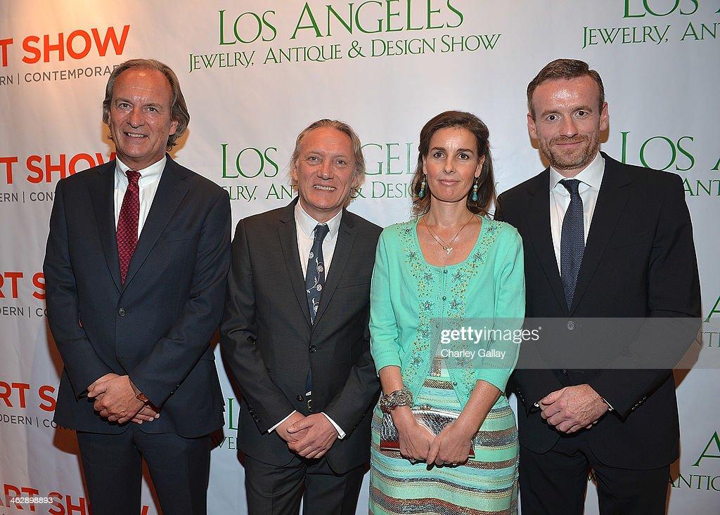 Tribute Internation CEO Diedrick van Eck Willem van Gogh Princess Anita Theodora of OrangeNassau and Director of the Van Gogh Museum Axel Rger...