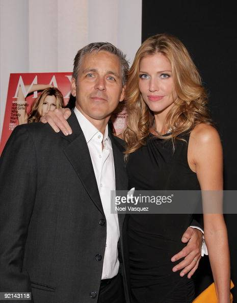 Tricia Helfer and her husband...
