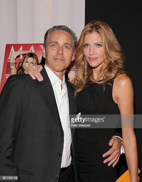 Tricia Helfer and her husband Jonathan Marshall attend her Maxim Cover Party hosted by SBE at Mi6 Night club on October 20 2009 in West Hollywood...
