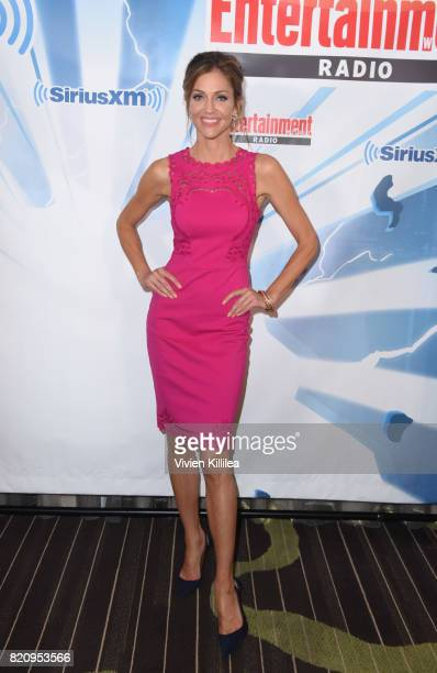 Tricia Helfer attends SiriusXM's Entertainment Weekly Radio Channel Broadcasts From Comic Con 2017 at Hard Rock Hotel San Diego on July 22 2017 in...