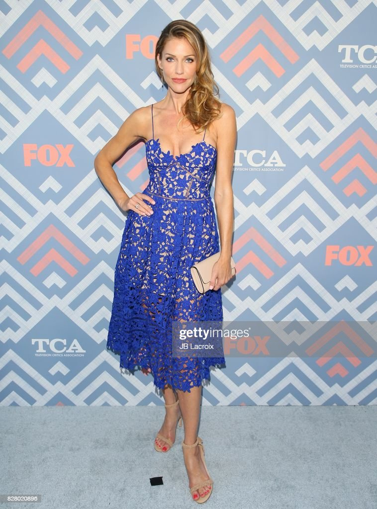 Tricia Helfer attends the 2017 Summer TCA Tour 'Fox' on August 08, 2017 in Los Angeles, California.