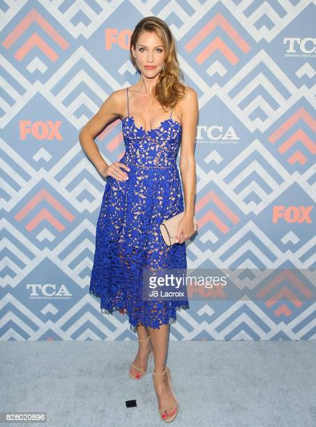 Tricia Helfer attends the 2017 Summer TCA Tour 'Fox' on August 08 2017 in Los Angeles California