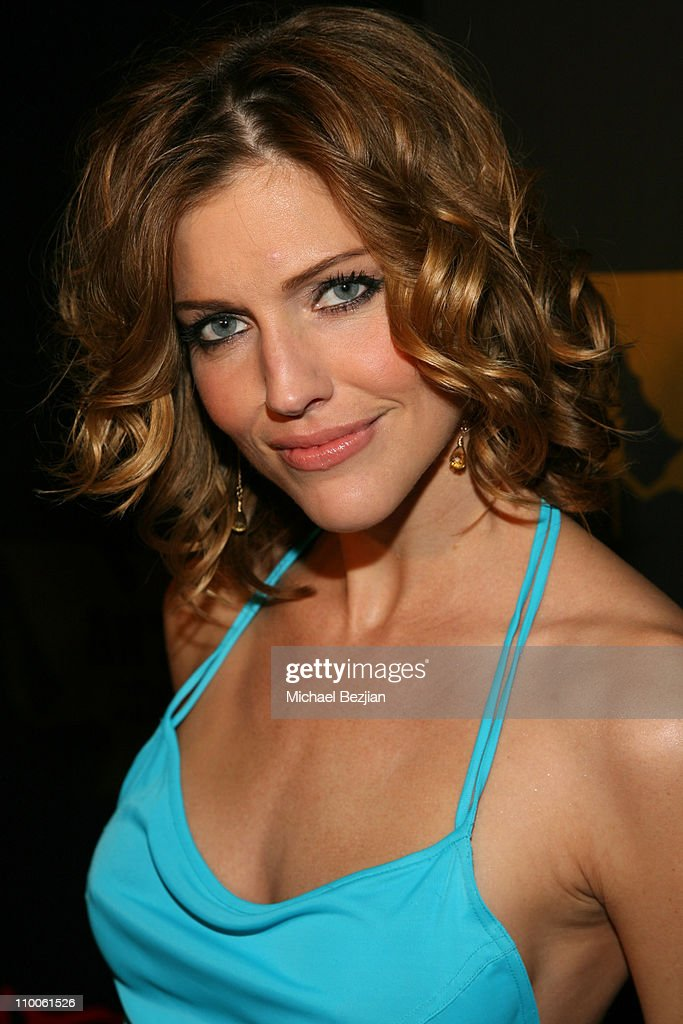 "Tricia Helfer of ""Battlestar Galcatica"" Party to Celebrate the Release of the"