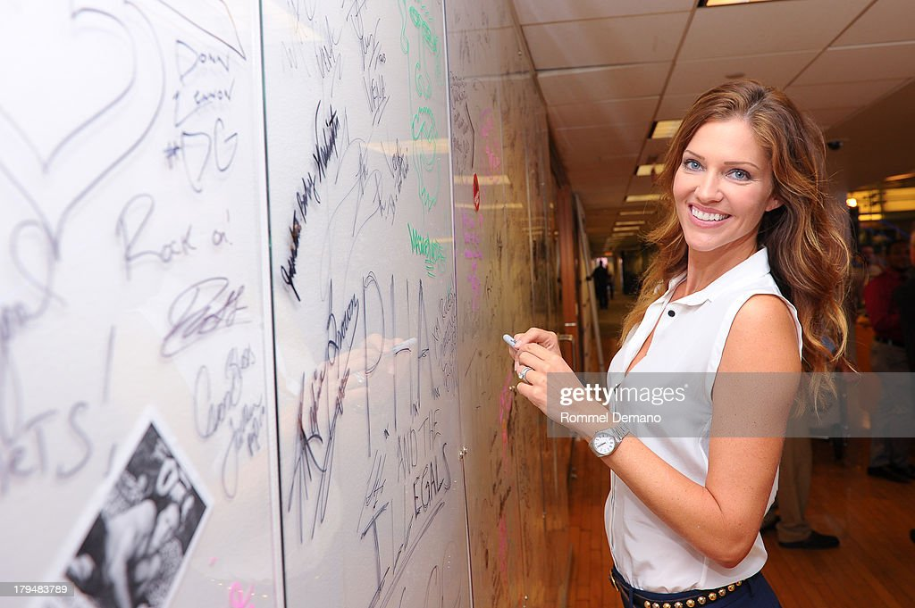 <a gi-track='captionPersonalityLinkClicked' href=/galleries/search?phrase=Tricia+Helfer&family=editorial&specificpeople=227945 ng-click='$event.stopPropagation()'>Tricia Helfer</a> visits SiriusXM Studios on September 4, 2013 in New York City.