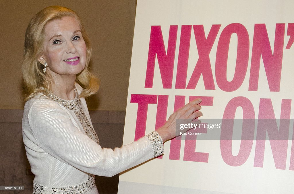 Tricia Nixon Cox poses for a photo during President Nixon's 100th Birthday Gala on January 9, 2013 in Washington, United States.