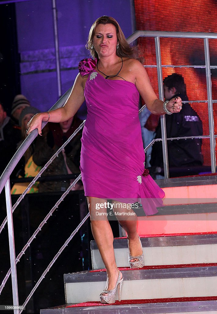 Tricia Penrose is the 5th celebrity evicted from the Big Brother house at Elstree Studios on January 23, 2013 in Borehamwood, England.