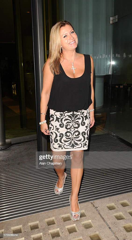 Tricia Penrose sighting at St Martin's Lane Hotel on July 2, 2013 in London, England.
