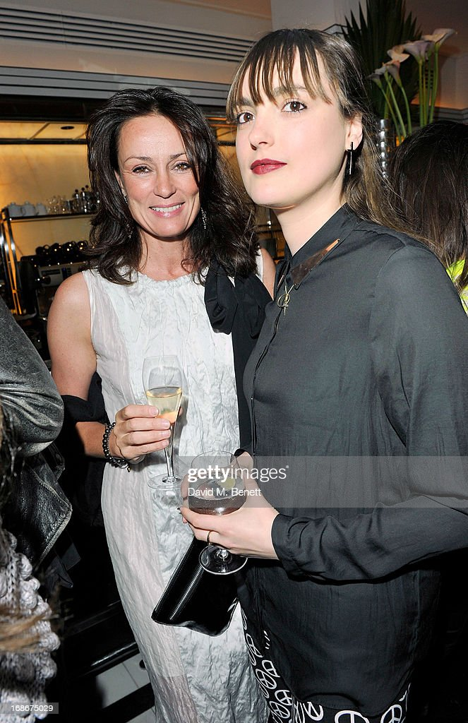 Tricia Ronane and Lauren Jones attend Joe's x Purple Magazine dinner at Le Caprice on May 13, 2013 in London, United Kingdom.