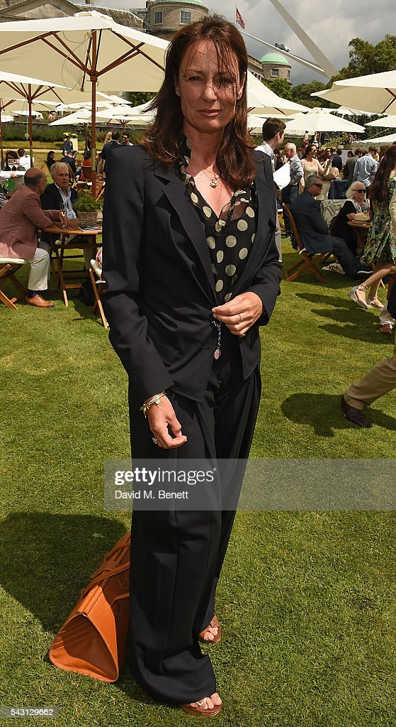 Tricia Ronane attends The Cartier Style et Luxe at the Goodwood Festival of Speed at Goodwood on June 26, 2016 in Chichester, England.