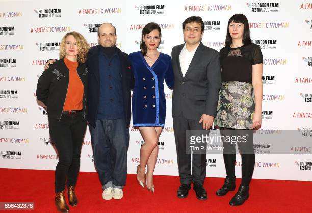 Tricia Tuttle Matthew Herbert Daniela Vega Gonzalo Maza and Kate Taylor attend the BFI Flare Special Presentation and UK Premiere of 'A Fantastic...