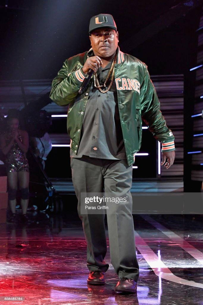 Trick Daddy performs onstage during the BET Hip Hop Awards 2017 at The Fillmore Miami Beach at the Jackie Gleason Theater on October 6, 2017 in Miami Beach, Florida.