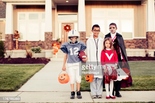 Trick or Treat : Stock Photo