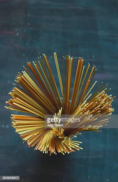 Tricolor spaghetti