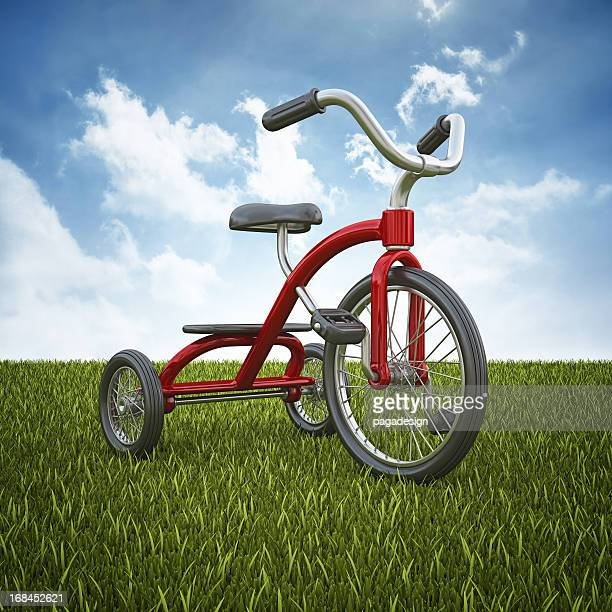 tricycle on the horizont