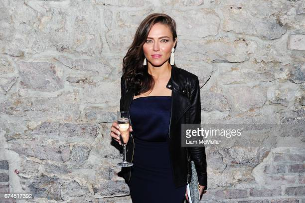 Trieste Kelly Dunn attends the 'Blame' After Party 2017 Tribeca Film Festival at Troy Liquor Bar on April 22 2017 in New York City
