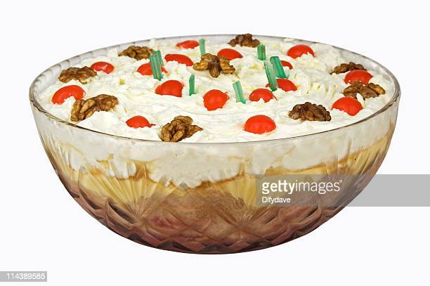 Trifle With Cream And Fruit