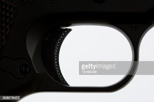 Trigger gun : Stock Photo