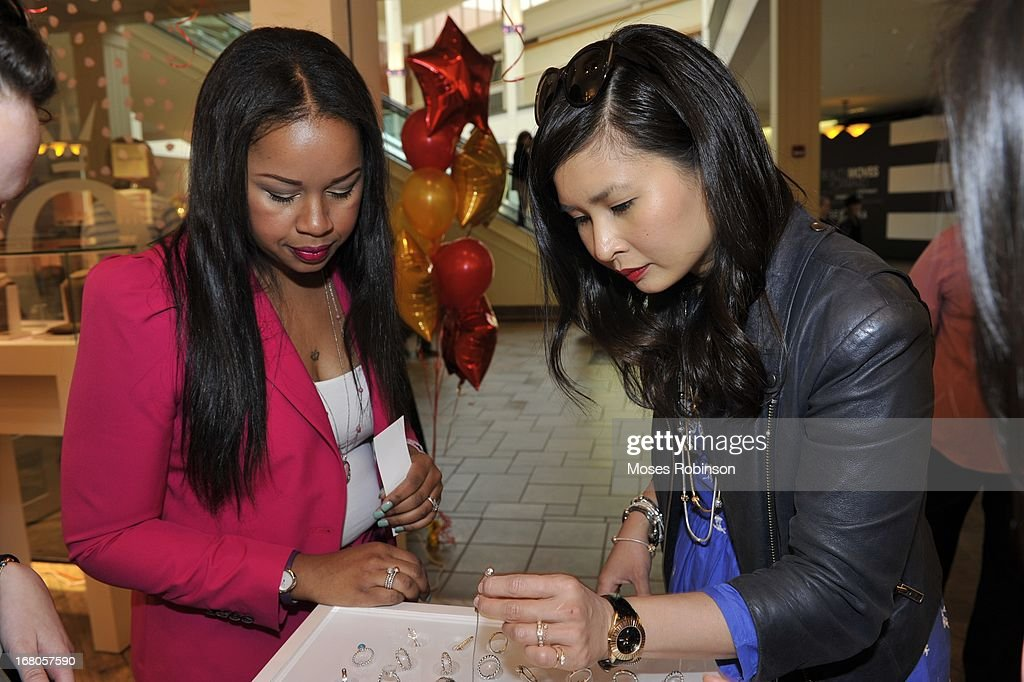 <a gi-track='captionPersonalityLinkClicked' href=/galleries/search?phrase=Trina&family=editorial&specificpeople=4195629 ng-click='$event.stopPropagation()'>Trina</a> and Melissa Lum attend the PANDORA celebrates Mother's Day at PANDORA at Perimeter Mall on May 4, 2013 in Atlanta, Georgia.