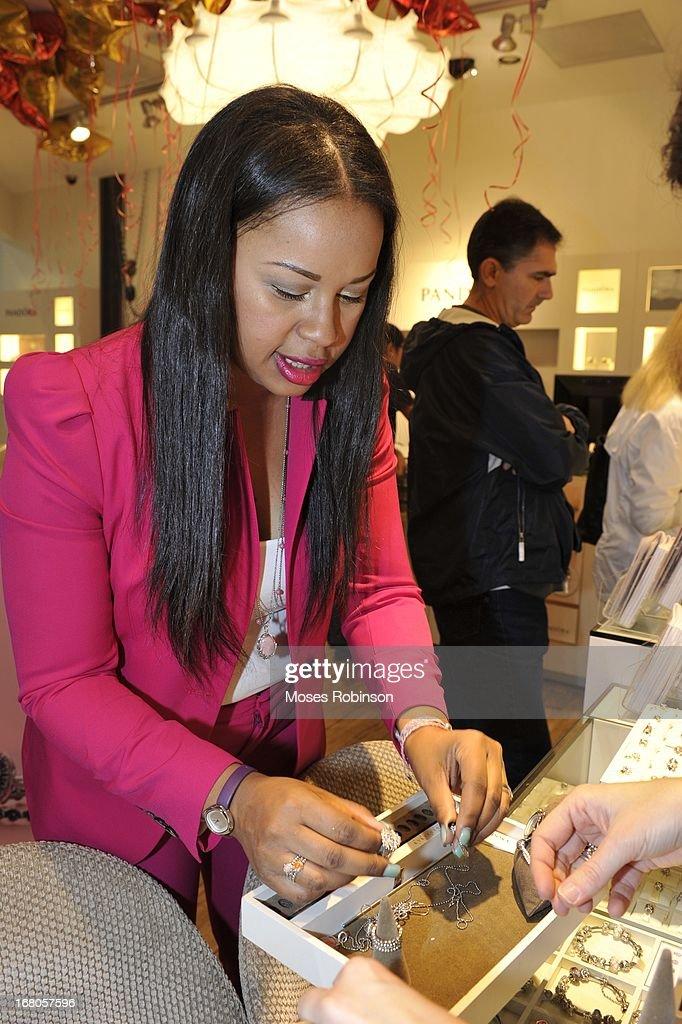 Trina attends the PANDORA celebrates Mother's Day at PANDORA at Perimeter Mall on May 4, 2013 in Atlanta, Georgia.