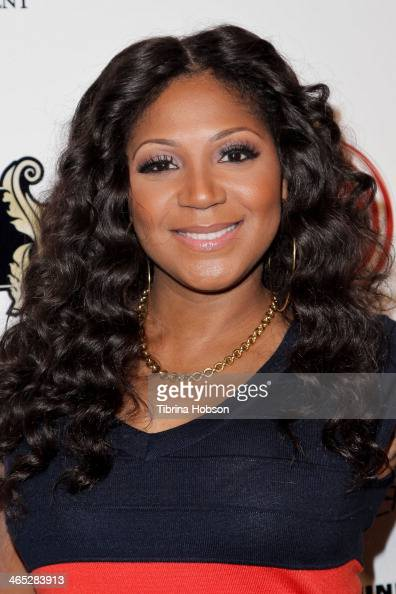 Trina Braxton attends the NeYo Compound entertainment 6th annual Grammy midnight brunch at Lure on January 25 2014 in Hollywood California
