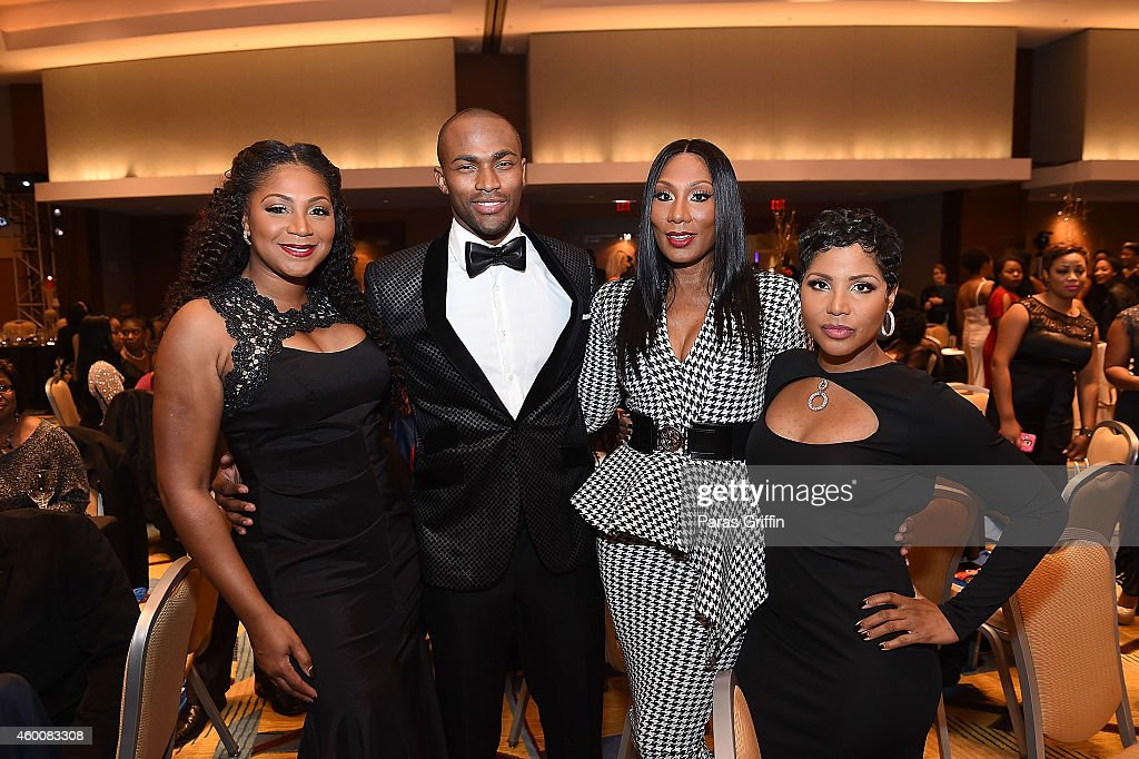 Trina Braxton Keith Carlos Towanda Braxton and Toni Braxton attend the Urban League of Greater Atlanta's 53rd Equal Opportunity Dinner Gala at...