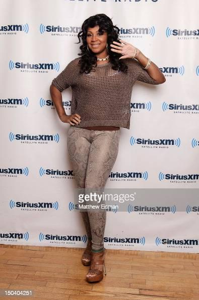 Trina Braxton of WE tv's 'Braxton Family Values' visits SiriusXM Studios on August 16 2012 in New York City