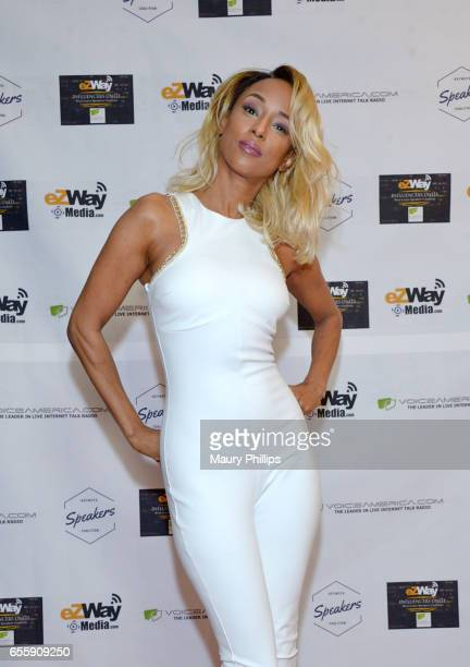 Trina McGee arrives at the 1st Annual Influencers Unite Gala and Eric Zuley birthday celebration on March 18 2017 in Dana Point California