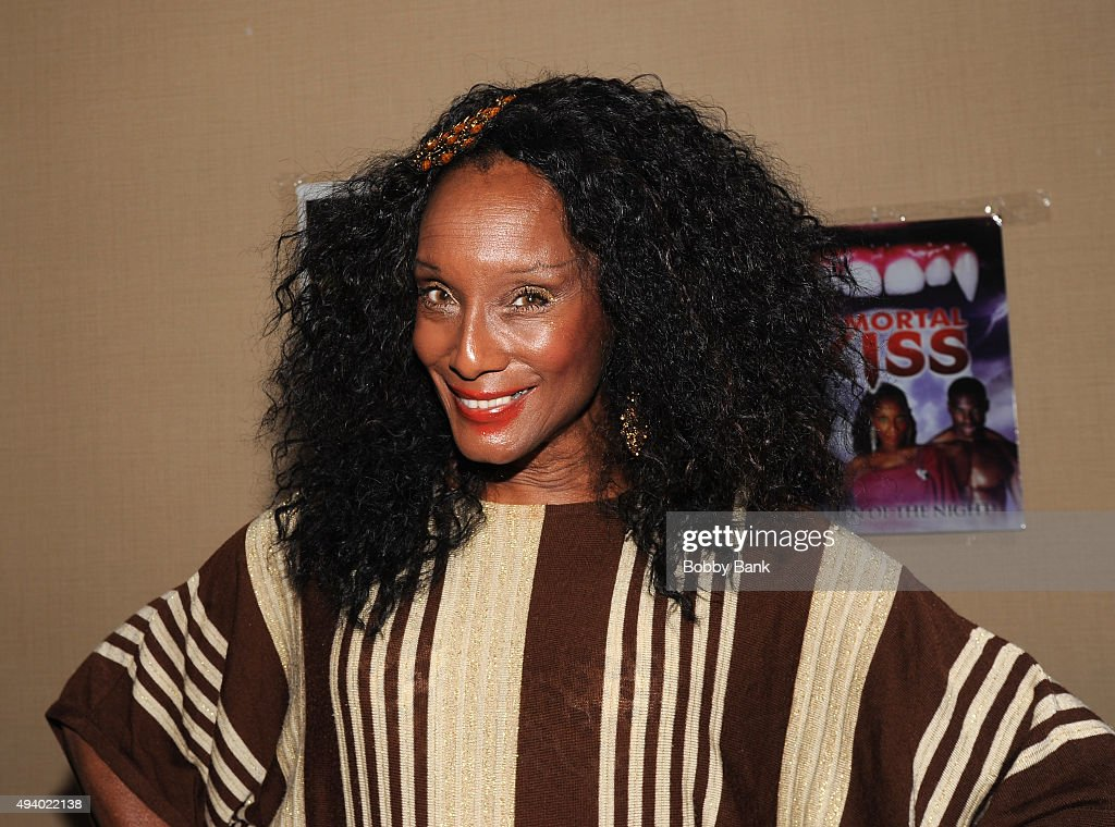Trina Parks attends Day 1 of the Chiller Theatre Expo at Sheraton Parsippany Hotel on October 23, 2015 in Parsippany, New Jersey.