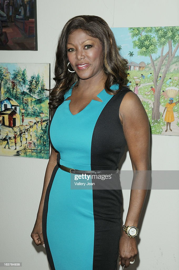 Trina Robinson attends the Jazz in the Gardens Women's Impact Conference and Luncheon at Shula's Hotel & Gold Club on March 15, 2013 in Miami Lakes, Florida.