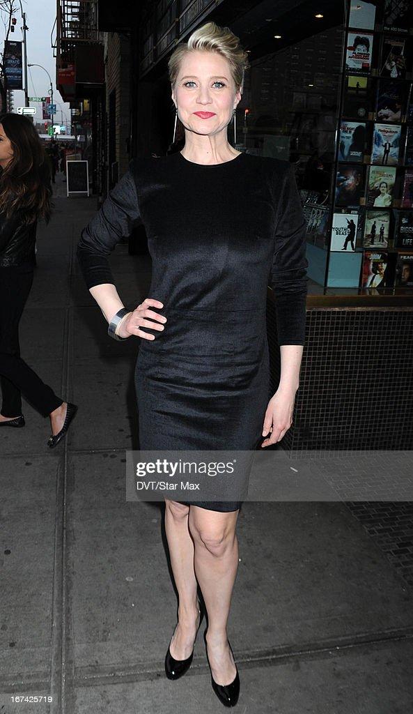 Trine Dyrholm as seen on April 24, 2013 in New York City.