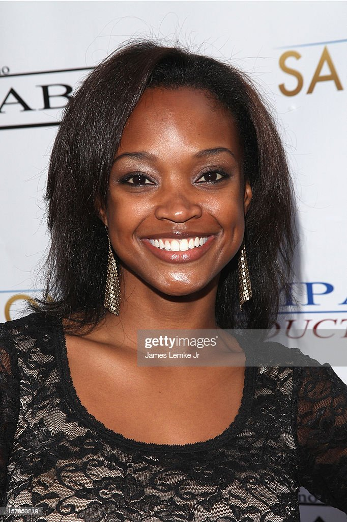 Trinecia Moore-Pernell attends the 'Edge Of Salvation' Los Angeles Premiere held at the ArcLight Sherman Oaks on December 6, 2012 in Sherman Oaks, California.