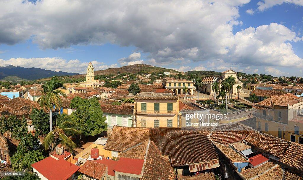 Trinidad, city panorama