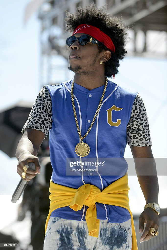 Trinidad Jame$ performs at the mtvU Woodie Awards on March 14, 2013 in Austin, Texas.