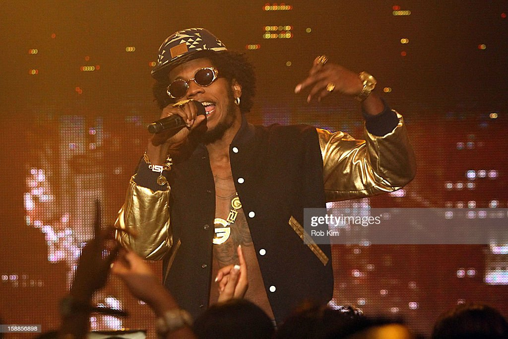Trinidad James performs at BET's '106 & Party' 2013 New Years Eve party at BET Studios on December 17, 2012 in New York City.