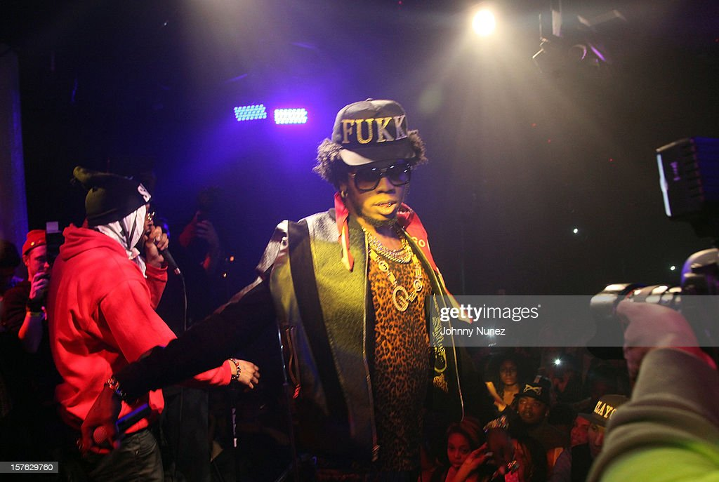 Trinidad James performs at Santos Party House on December 4, 2012 in New York City.